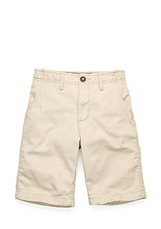 Red Camel Flat Front Twill Shorts Boys 8-20