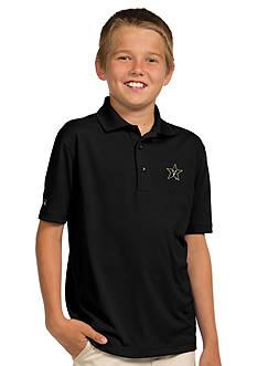 Antigua Vanderbilt Commodores Pique Xtra Lite Polo Boys 8-20