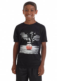 JK Tech™ Basketball Court Screen Tee Boys 8-20