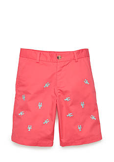 J Khaki™ Embroidered Shorts Boys 8-20