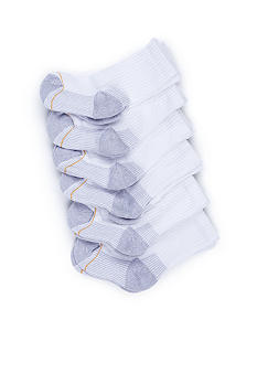 Gold Toe 6 Pack Sport Crew Sock - Boys 8-20