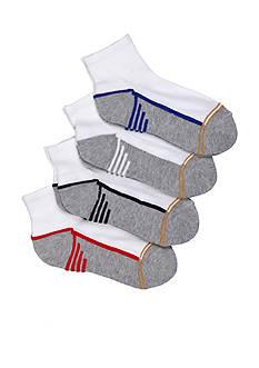 Gold Toe 6-Pack Sport Quarter Socks Boys 4-20