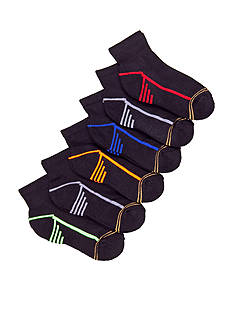 Gold Toe 6-Pack Sport Quarter Socks Boys 4-20