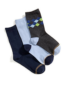 Gold Toe Argyle Dress Socks 7-8.5