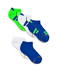 Gold Toe 6-Pack Color Block Sport Liner Socks Boys 8-20