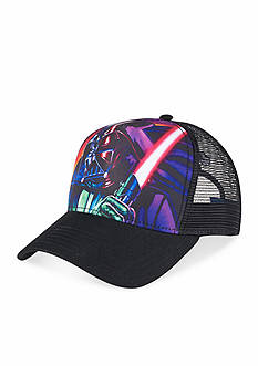 Star Wars Darth Vader Trucker Adjustable Baseball Cap Boys 4-20
