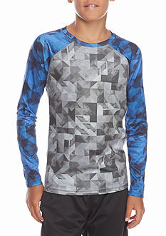 JK Tech™ Printed Raglan Shirt Boys 8-20