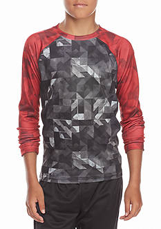 JK Tech™ Printed Raglan Active Shirt Boys 8-20
