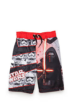 Star Wars Character Swim Trunks Boys 4-7