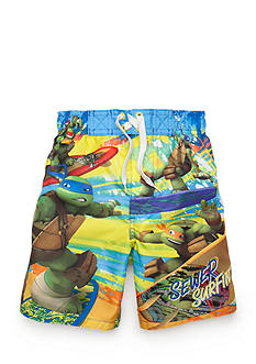 Nickelodeon™ Teenage Mutant Ninja Turtles™ Character Swim Trunks Boys 4-7