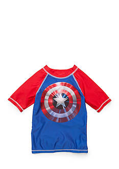 Marvel™ Captain America Rashguard Boys 4-7