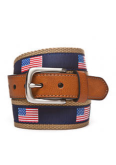 J Khaki™ American Flag Web Belt Boys 8-20