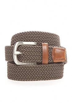 J. Khaki Elastic Braid Belt Boys 4-20
