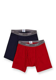 Jockey 2 Pack Boxer Briefs Boys 4-20
