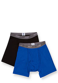 Jockey 2-Pack Performance Boxer Briefs Boys 4-20