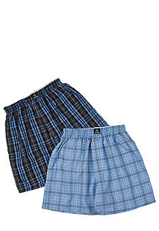 Jockey Plaid Boxer Boys 8-20
