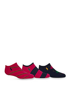 Ralph Lauren Childrenswear 3-Pack Fashion Ivy Argyle Socks Girls 4-16