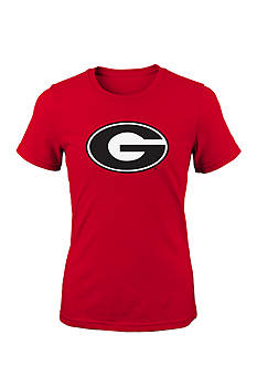 Gen2 Georgia Bulldogs Primary Logo Tee Girls 7-16