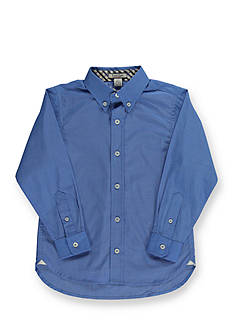Kitestrings® Long Sleeve Button Down Solid Woven Boys 4-7