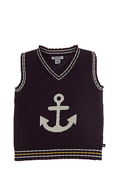 Kitestrings Anchor Sweater Vest Boys 4-7