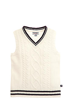 Kitestrings Cable Sweater Vest Boys 4-7