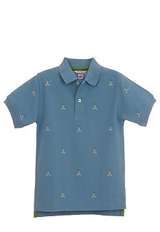 Kitestrings Golf Motif Polo Shirt Boys 4-7