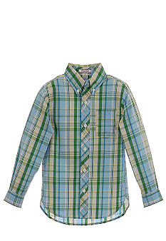 Kitestrings Plaid Woven Shirt Boys 4-7