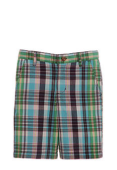 Kitestrings® Plaid Short Boys 4-7