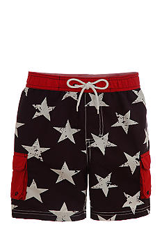 Kitestrings Star Swim Shorts Boys 4-7