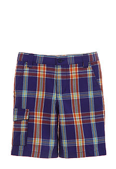 Kitestrings Plaid Short Boys 4-7