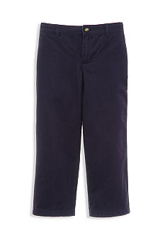 Kitestrings Air Navy Flat Front Twill Pant Boys 4-7