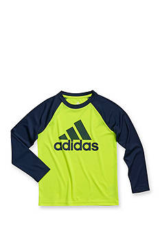 adidas Long Sleeve Climalite® Touchdown Tee Boys 4-7