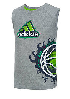 adidas Action Ball Tee Boys 4-7