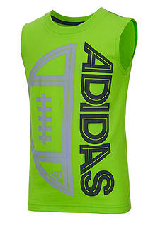 adidas Outline Ball Tee Boys 4-7