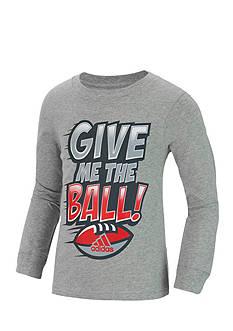 adidas Give Me The Ball Long Sleeve Tee Boys 4-7