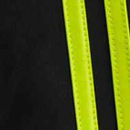 Boys Activewear: Black/Yellow adidas Impact Tricot Pants Boys 4-7