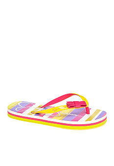 Jessica Simpson Madison Lime Flip Flop Girl Sizes 13-5