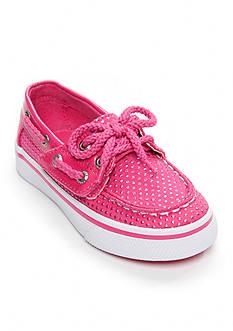 Sperry® Top-Sider Bahama Jr. Pink Dot Boat Shoe - Infant/Toddler Girl Sizes 7-12