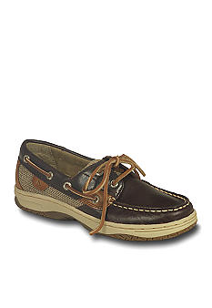Sperry Top-Sider Bluefish Chocolate Boat Shoe Kids Sizes 12.5 - 5