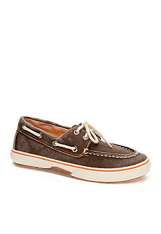 Sperry Top-Sider Halyard Boatshoe Brown Boy Sizes 12.5 - 4
