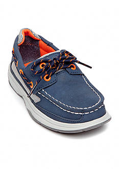Sperry® Top-Sider Lanyard Navy Boat Shoe - Boy Sizes 12.5-6