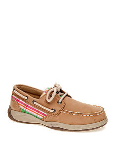 Sperry Top-Sider Intrepid Plaid Boatshoe Girl Sizes 12 - 6.5