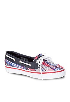 Sperry Top-Sider Biscayne Plaid Boatshoe Girl Sizes 12.5 - 5