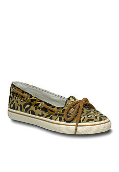 Sperry Top-Sider Carline Leopard Girl Sizes 12.5 - 5