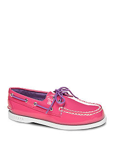 Sperry Top-Sider A/O Patent Boatshoe Girl Sizes 12.5 - 5