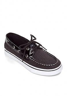 Sperry® Top-Sider Bahama Black Dot Boat Shoe - Girl Sizes 12.5-4