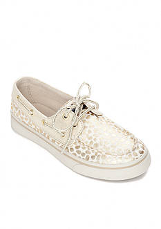 Sperry® Top-Sider Bahama Gold Dot Boat Shoe - Girl Sizes 12.5-4