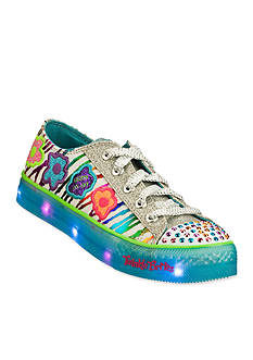 Skechers Twinkle Toes Boogie Lights Dizzy Daisy Sneakers - Girl Toddler/Youth Sizes 11 - 3