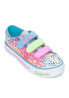 Skechers Twinkle Toes Peace N' Love Sneakers - Toddler/Youth Girl Sizes 10.5-3