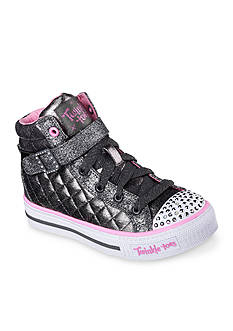 Skechers Twinkle Toe Sweetheart Sole Sneaker - Toddler/Youth Sizes